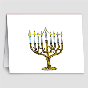 Hanukkah Candles (6 cards)