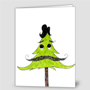 Merry Hairy Holidays (6 cards)