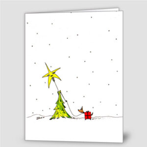 Christmas Tree Stroll (6 cards)